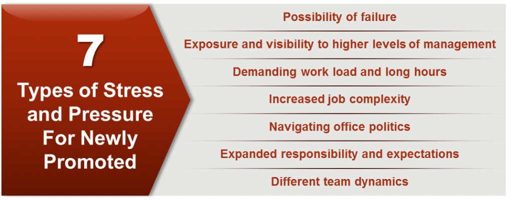 7 Types of Stress and Pressure For Newly Promoted